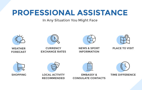 Professional assistance in any situation